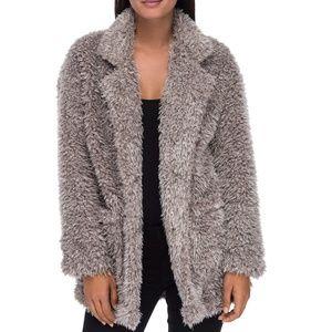 Bobeau Salma Faux Fur Jacket XS